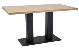 Jídelní stůl SAURON dub masiv 120x80 cm