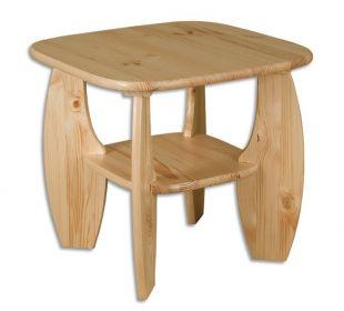 Konferenční stolek/odkládací, masiv borovice