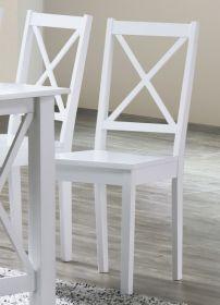 Jídelní židle STILO bílá
