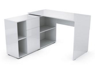 Pracovní stůl KLEMENT bílá lesk