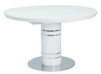 Jídelní stůl rozkládací STRATOS 120 bílý