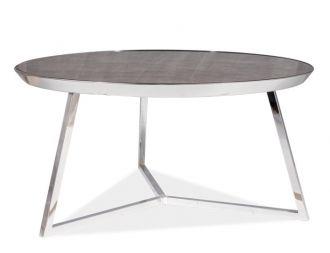 Konferenční stolek TEMIDA B mramor/chróm