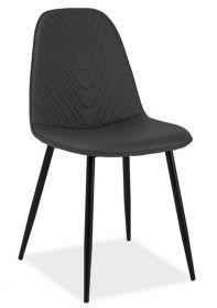 Jídelní čalouněná židle TEO A šedá