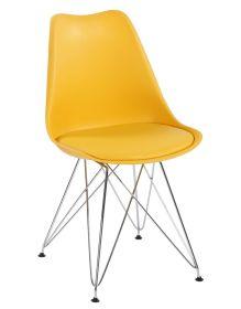 Jídelní židle TIME II žlutá