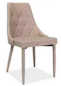 Jídelní čalouněná židle TRIX béžová