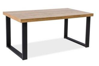 Jídelní stůl UMBERTO 120x80 dub masiv