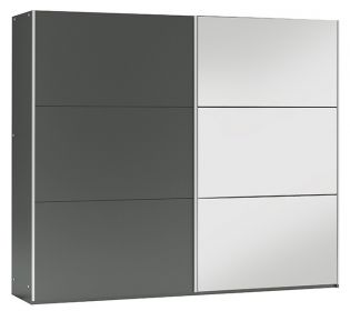 Šatní skříň VIGO 250 grafit/grafit