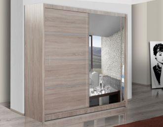 Šatní skříň VISTA 180 dub sonoma