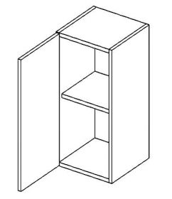W30L horní skříňka jednodvéřová COSTA