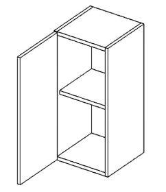 W30L horní skříňka jednodvéřová COSTA OLIVA