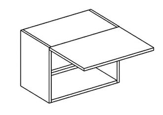 WO 50/35 skříňka nad digestoř PREMIUM de LUX hruška2
