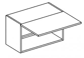 WO 60/30 skříňka nad digestoř PREMIUM de LUX hruška2