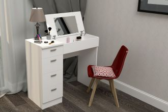 Pracovní/toaletní stolek CHARM bílá