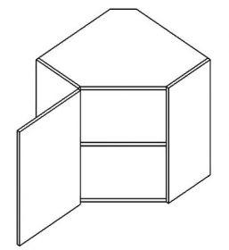 WR60L horní skříňka rohová POSNANIA