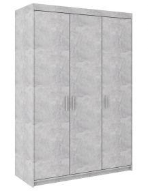 Šatní skříň ELINA 3D beton jasný