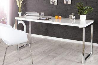 konzolový stůl DESK WHITE 140-60 CM