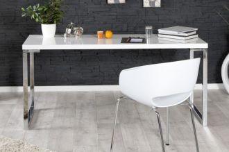 konzolový stůl DESK WHITE 160-60 CM