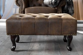 taburet CHESTERFIELD BROWN