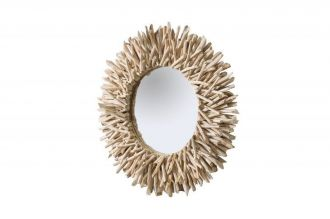Designové zrcadlo RIVERSIDE NATUR naplavené dříví