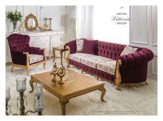 luxusní sedací souprava 4 SET VITTORIA LUXUS
