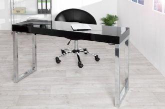 konzolový stůl DESK BLACK 120-40 CM