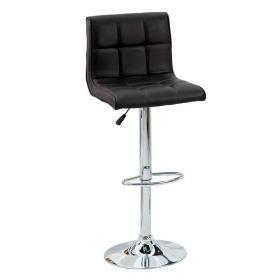 Barová židle MODENA 90-115 CM černá