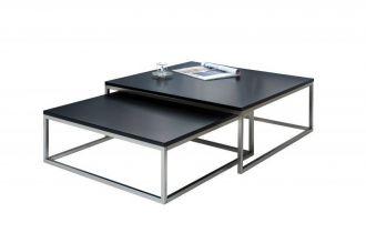 2SET konferenční stolek NEW FUSION BLACK
