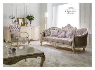 luxusní sedací souprava 3 SET CAPELLA LUXUS