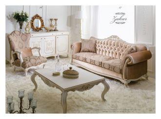 luxusní sedací souprava 3 SET ZAKAR LUXUS
