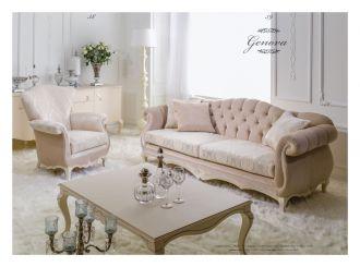 luxusní sedací souprava 3 SET GENOVA LUXUS