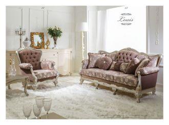luxusní sedací souprava 3 SET LOUIS LUXUS