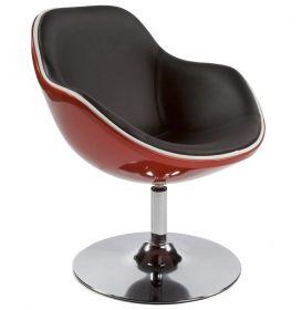 židlo-křeslo DAYTONA BLACK RED