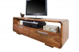 Televizní stolek GOA 130 CM masiv sheesham