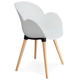 židle SAGU WHITE