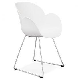židle TEXINA WHITE