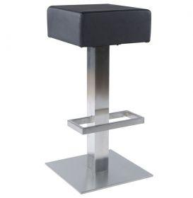 barová židle BONE BLACK