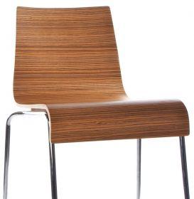 barová židle PARIS ZEBRANO