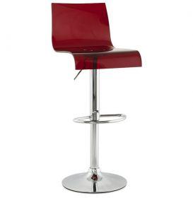 barová židle MILANO RED