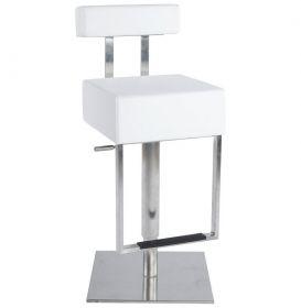 barová židle VARSA WHITE