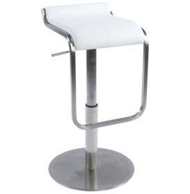 barová židle ROMA WHITE
