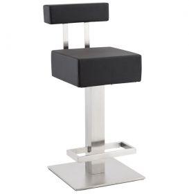 barová židle BERN BLACK