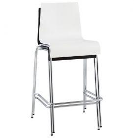 barová židle BONN WHITE
