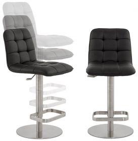 barová židle LUXER BLACK