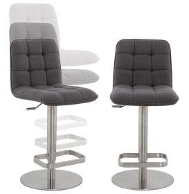 barová židle LUXER GREY