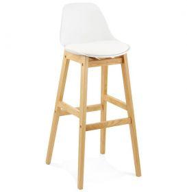 barová židle ROSEAU WHITE