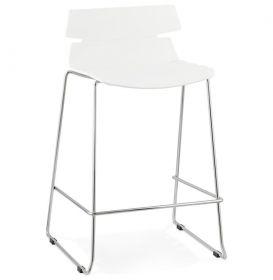 barová židle ACCRA WHITE