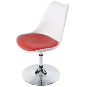 židle NASSAU WHITE RED
