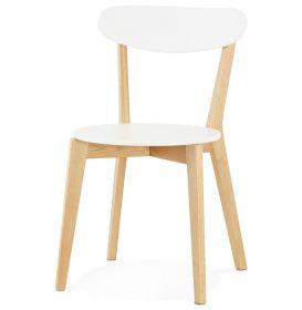 židle BOHDO WHITE
