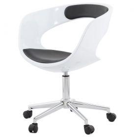 kancelářská židle PRODO WHITE BLACK