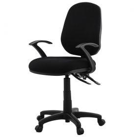 kancelářská židle HOLLY BLACK
